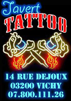 Javert tattoo dermographe