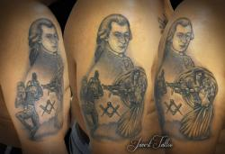 Javert tattoo vichy black and grey 80