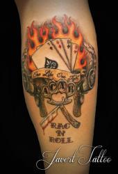 Javert tattoo vichy couleurs 32