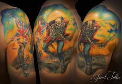 Javert tattoo vichy couleurs 40