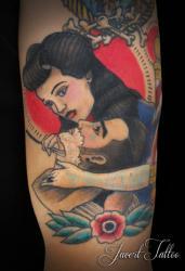 Javert tattoo vichy couleurs 51