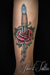Javert tattoo vichy couleurs 68