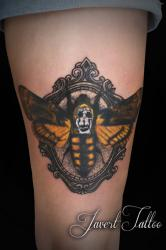 Javert tattoo vichy couleurs 69