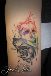 Javert tattoo vichy petit motif 108