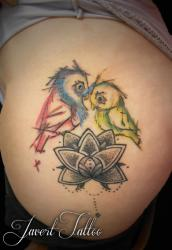Javert tattoo vichy petit motif 113