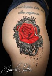 Javert tattoo vichy petit motif 119