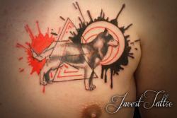 Javert tattoo vichy petit motif 127