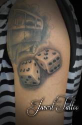 Javert tattoo vichy petit motif 134