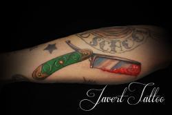 Javert tattoo vichy petit motif 67