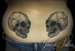 Javert tattoo vichy petit motif 89